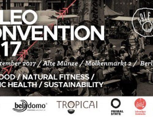 Ein Hauch Steinzeit auf dem Teller: Paleoconvention 2017 (2+3 Sept in Berlin)